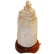Lámpara de Selenita. 25 a 30 cm
