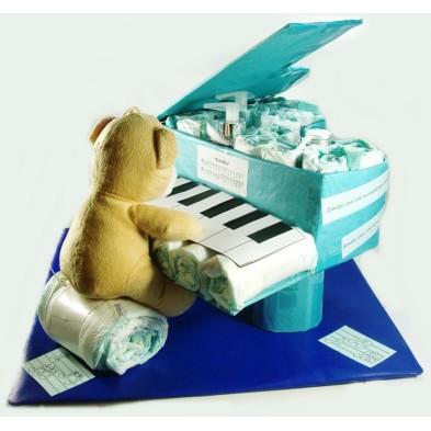 Tarta de Pañales Piano