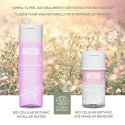 Pack Massada Bio Celular Botanic Micellar Water Eye Make Up Remover