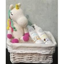 Caja Regalo S Baño Cosmética Mama & Baby Organics