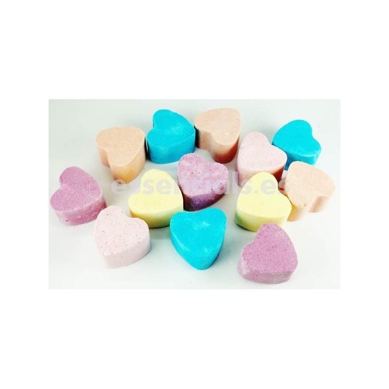 Bombas Baño Efervescentes Corazón