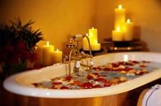relax en el baño