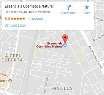 Essencials cosmetica natural en Valencia